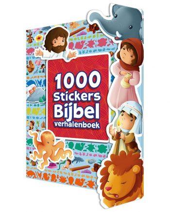 1000 stickers Bijbelverhalenboek
