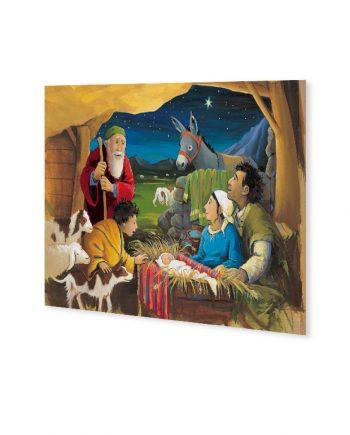 Kerstkaart Marijke ten Cate