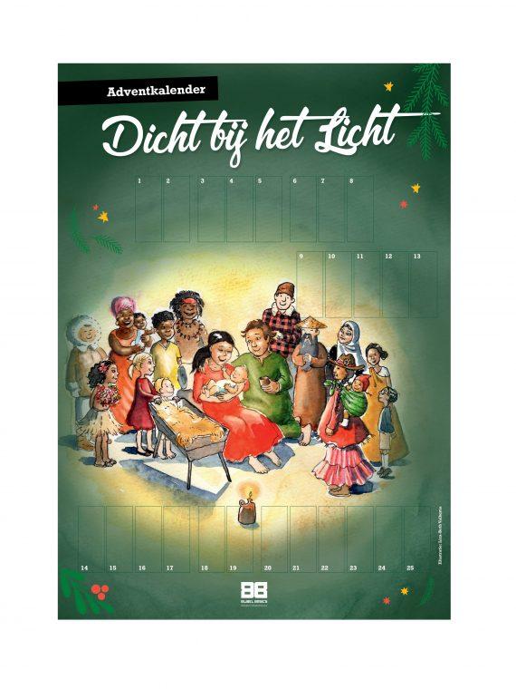 Adventkalender Dicht bij het Licht