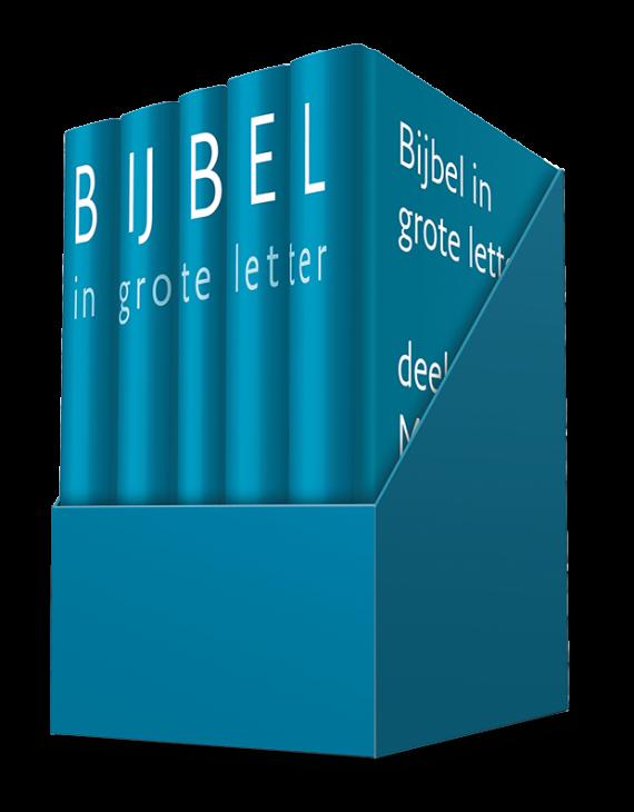Bijbel in grote letter