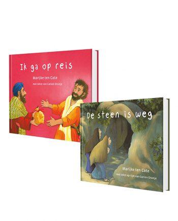 Prentenbijbel kartonboekjes set Nieuwe Testament