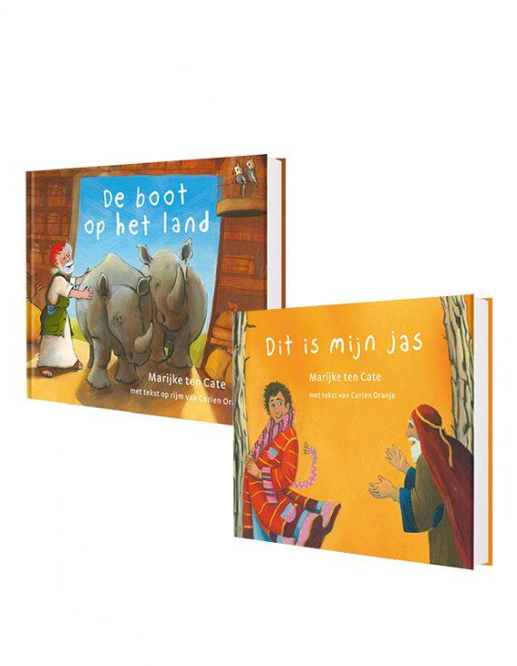 Prentenbijbel kartonboekjes set OudeTestament